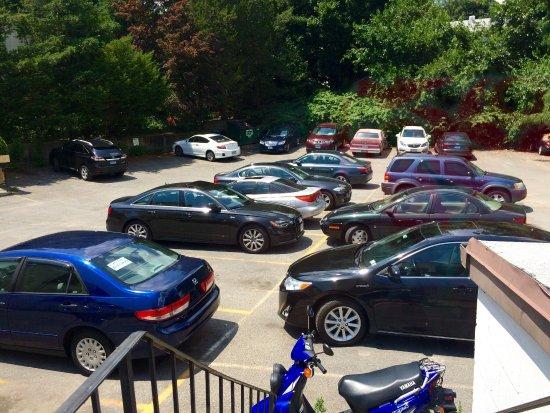 Plentiful car parking at Olio