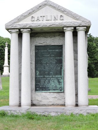 Crown Hill Cemetery: There are inventors of weapons...