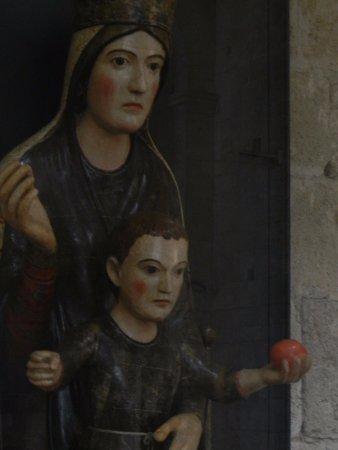 Abbazia di Sant'Antimo: Gruppo ligneo