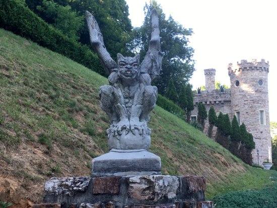 Berkeley Springs, Virginia Occidental: Don't mess with my castle