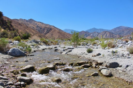 whitewater preserve view nw towards san gorgonio picture of