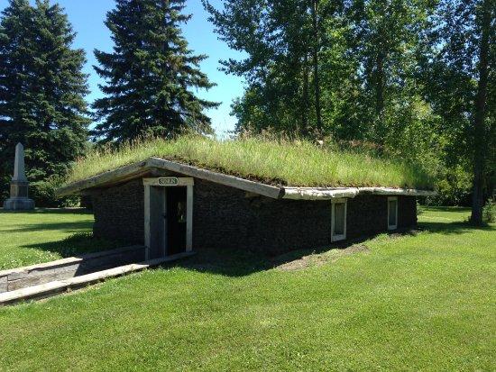 Steinbach, Canadá: Sod house