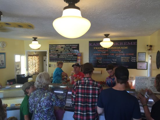 Coupeville, WA: The counter