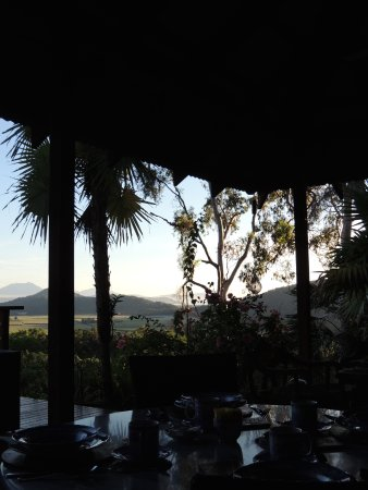Mai Tai Resort: View from our breakfast table