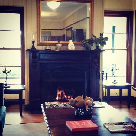 Grandchester, Australia: One of the Fireplaces in Homage...