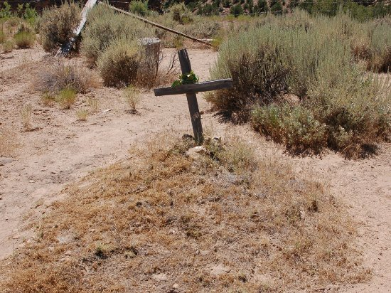 Thompson, UT: Ghost Town Cemetary