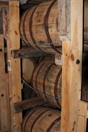 Loretto, Kentucky: barrels of gold