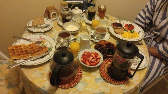 Minden, Canadá: the amazing breakfast