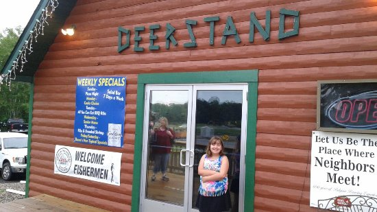 Deerwood, MN: The Deerstand