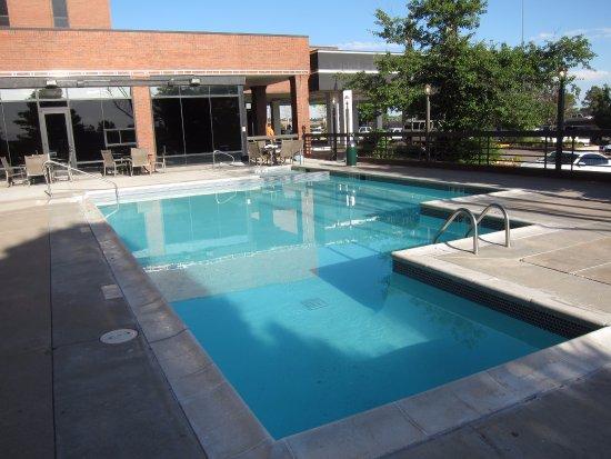 Radisson Hotel Denver Southeast Pool Spa At Far End