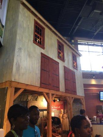 Columbia, Pensilvania: the house ice cream built