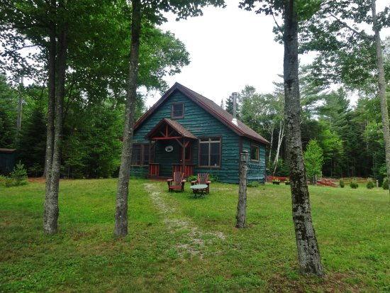 Lake Clear Lodge & Retreat: Writers Cabin. 1 bdrm, Lvrm, bathroom, upstairs kitchenette