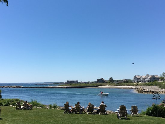 The Breakwater Inn and Spa: View from the restaurant