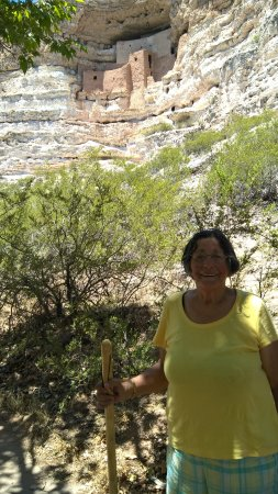 Montezuma Castle National Monument: This is as close as you get