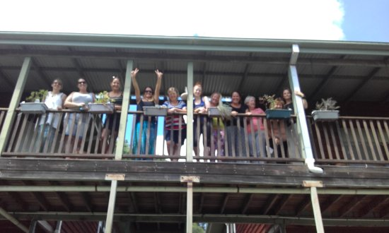 Canungra, Australien: Group bonding brilliance