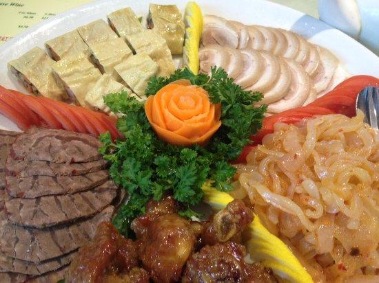 Burnaby, Kanada: Appetizer platter
