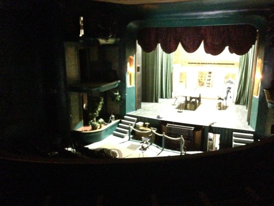 Philipsburg, MT: Stage from the balcony...