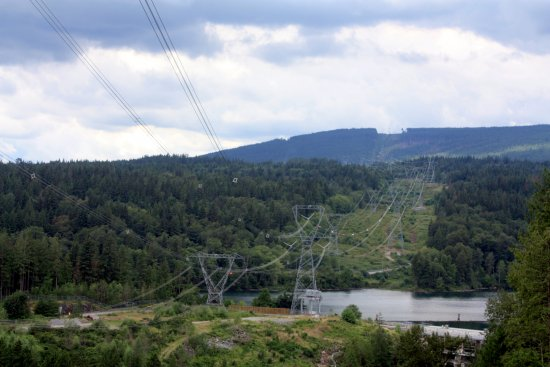 Mission, Kanada: Another view of the power lines