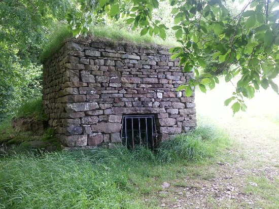 Dent, UK: The lime kiln