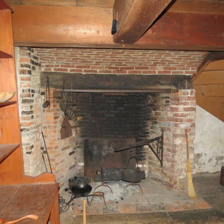 Little Falls, Nowy Jork: Kitchen Fireplace