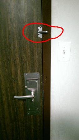 Berlin, CT: No security lock on door.