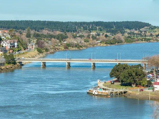 วางกานูอี, นิวซีแลนด์: Whanganui River With Paddlesteamer In Foreground
