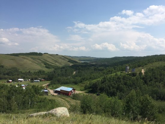 North Battleford, Canadá: If you want the most amazing zip line experience in Saskatchewan you have got to try Blue Mounta