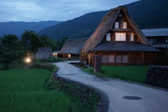 Nanto, Japan: 夜涼みライトアップ