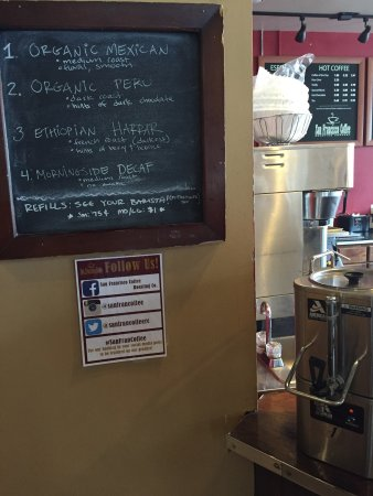 Photo of Cafe San Francisco Coffee Roasting Company at 1192 N Highland Ave Ne, Atlanta, GA 30306, United States