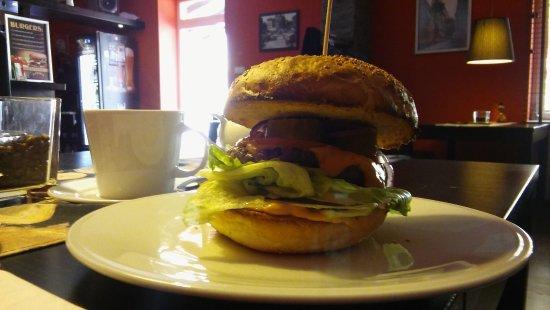 Skierniewice, Polonia: Takie burgery można sobie zamówić