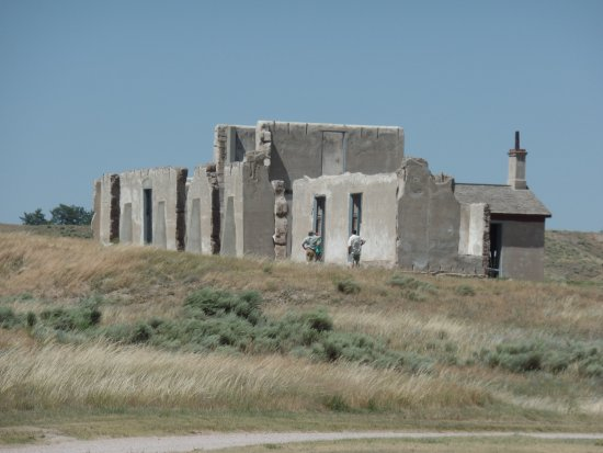 Fort Laramie, WY: Ruins of the fort.