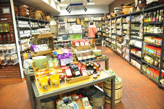 Tillamook, OR: Retail store section
