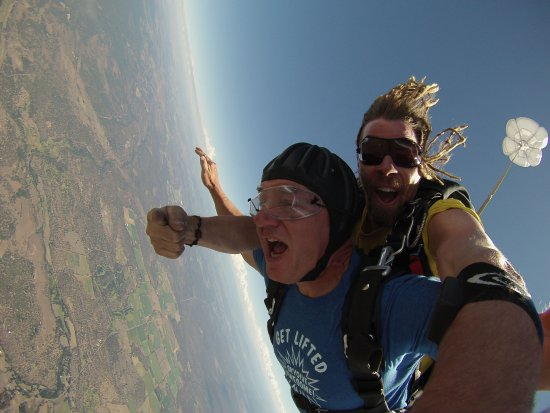 Sisters, OR: Freefall, an experience like none other, guaranteed.