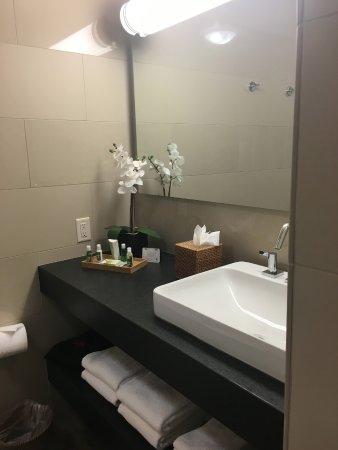 Badezimmer bei Ankunft