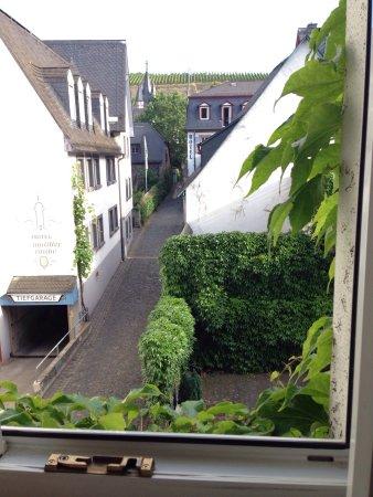 Hajo's Hotel Germania: 早餐&窗外風景
