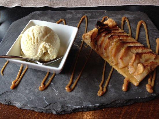 Tarte pomme glace vanille dessin caramel sal picture of la chaudanne morzine tripadvisor - Vanille dessin ...
