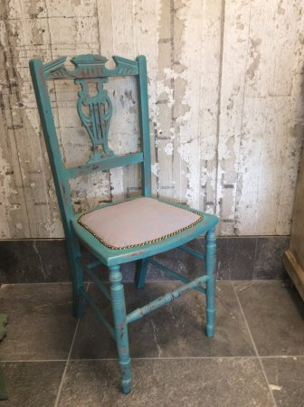 Hebden Bridge, UK: Reloved chair