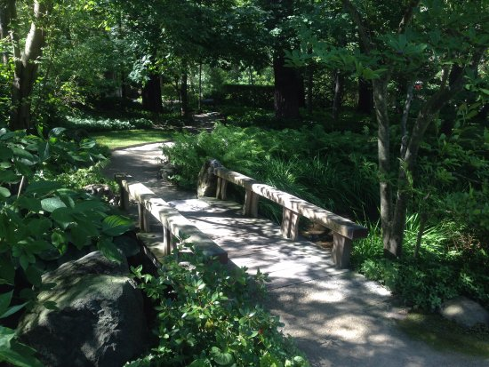Rockford Illinois Anderson Japanese Gardens Bridge Picture Of