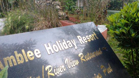 Amblee Holiday Resort: the entrance