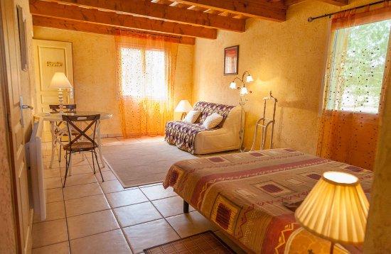 Quincie-en-Beaujolais, Francia: La chambre Honorine - Chambres d'hôtes les Potins du four