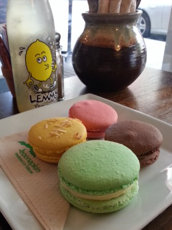 New Plymouth, Yeni Zelanda: French Macarons