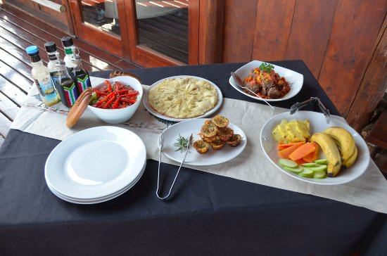 Balule Private Game Reserve, แอฟริกาใต้: Light lunch