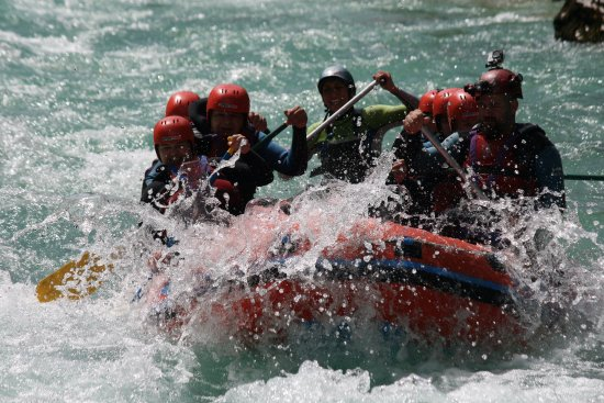 SPORT MIX: The great rafting adventure in Bovec
