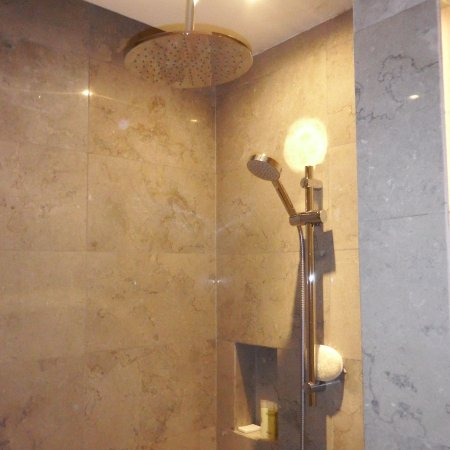 Walk in shower cubicle with rain shower head - Picture of Hyatt City ...