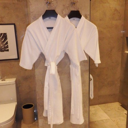 Bath Robes In The Bathroom   Picture Of Hyatt City Of Dreams Manila,  Paranaque   TripAdvisor