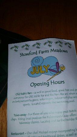 Stowford Farm Meadows: 20160718_091304_large.jpg
