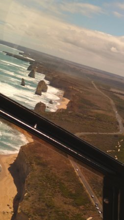 Great Ocean Road, Australia: 12 Apostoles view from Chopper