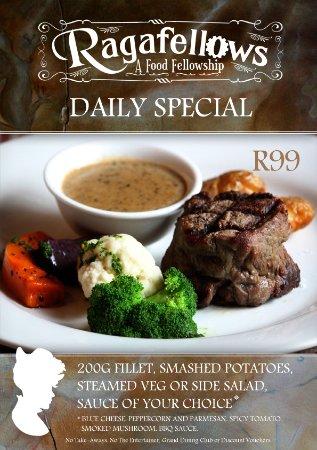 Ragafellows: Fillet Steak Special