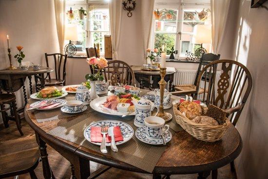 Teestuebchen im Schnoor: Unser neues Frühstück. Reichhaltig und lecker!