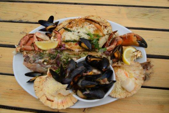 River Exe Cafe: Seafood Platter